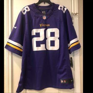 Vikings Peterson Jersey